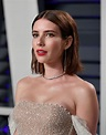 EMMA ROBERTS at Vanity Fair Oscar Party in Beverly Hills ...