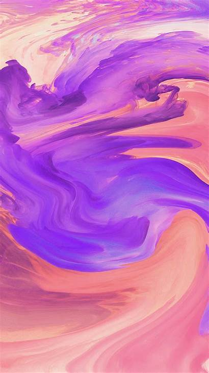 Abstract Purple Paint Pattern Swirl Iphone Hurricane