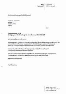 Vodafone Rechnung Ausdrucken : drucke selbst kostenlose vorlagen f r k ndigungsschreiben ~ Themetempest.com Abrechnung