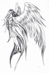 angel in flight by BSylphir on DeviantArt