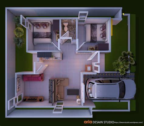 desain rumah sederhana lengkap  ukuran desain