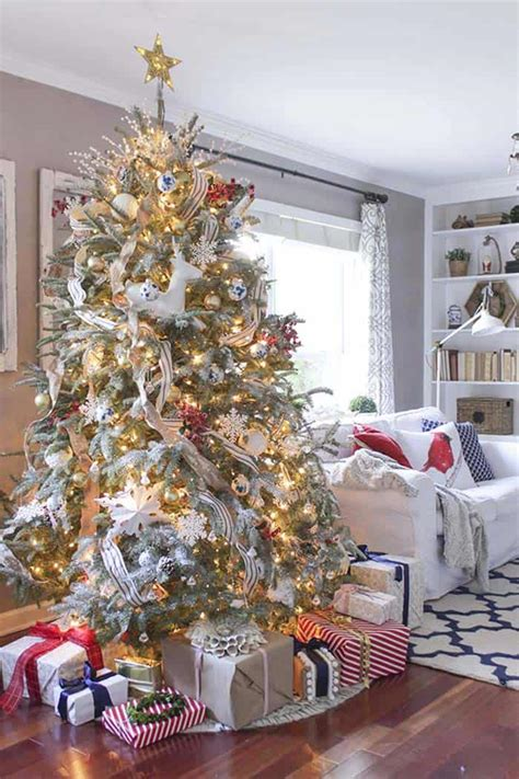 christmas themes ideas 40 fabulous rustic country decorating ideas