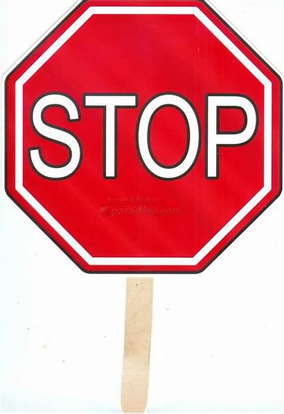 Stop Sign Clip Clipart Printable Template Signs