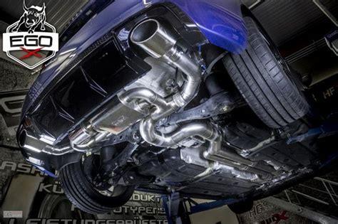 bull x auspuff hg motorsport audi rs3 8v mit ego x bull x auspuff