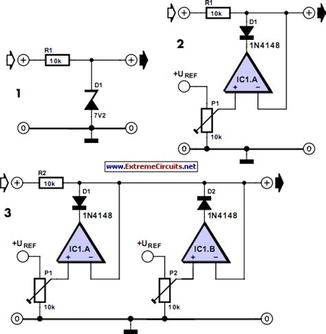 Diagram Of A Diode by Adjustable Zener Diode Eeweb Community