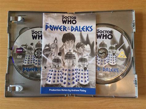 review  power   daleks dvd blogtor