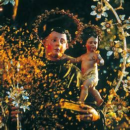 procession feast day saint anthony capri saturday