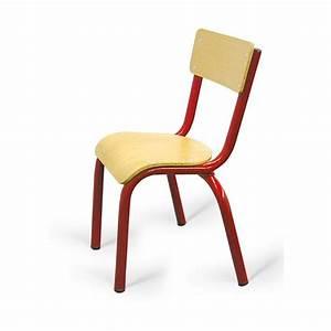 Chaise D école : chaise d 39 cole maternelle noa chaise d 39 cole maternelle en bois et m tal cofradis ~ Teatrodelosmanantiales.com Idées de Décoration