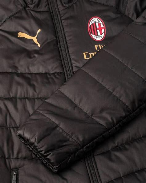 panchina milan ac milan piumino giubbotto giaccone jacket 2018