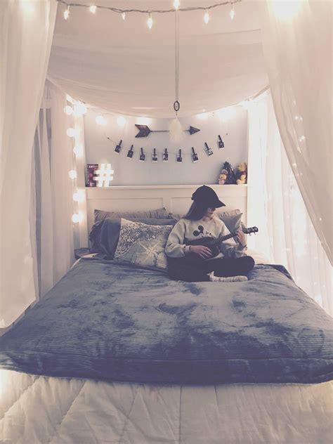 fairy lights bedroom tumblr beautiful teen bedroom room