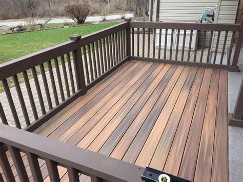 decks  deck built  marshall exteriors composite deck