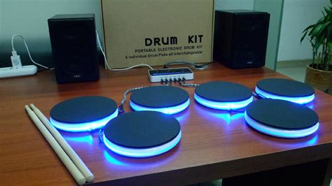 New Musical Instruments Portable Electronic Drum Kit