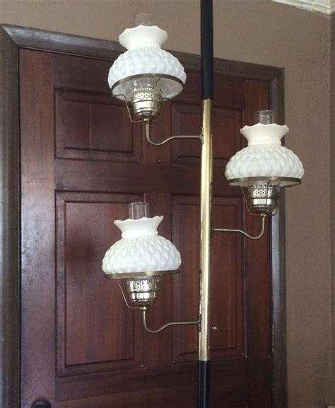 vintage tension pole lamp  bonuses   beauty