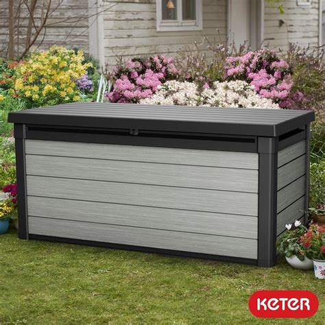 Garden Arch Costco by Keter 570 Litre Wood Look Duotech Deck Box Costco Uk