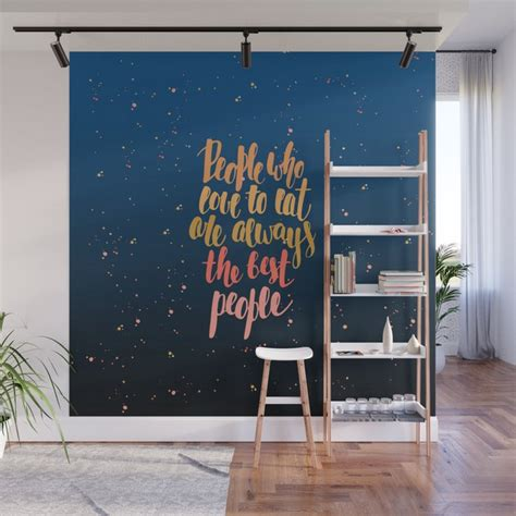 Explore all of the stylish wall decor kirklands.com has to offer! Eaters gonna eat Wall Mural by hypnoboy   Society6