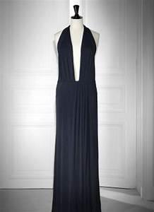 robe longue dos nu plongeant With robe longue décolleté dos