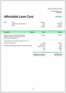 Digital invoice template templates data for Free invoice template digital invoice template