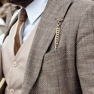 How To Wear a Pocket Watch Chain