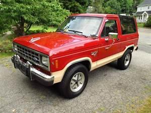 Find Used 1986 Bronco Ii 4x4 Eddie Bauer 84k Miles