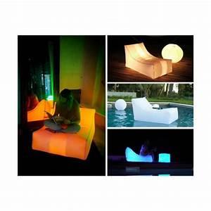 Mobilier Gonflable Exterieur : fauteuil gonflable lumineux recouvert d 39 une housse nylon ~ Premium-room.com Idées de Décoration