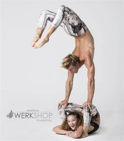 tag a homie that makes you smile as bright as sofie dossi tarzan photo and handstand