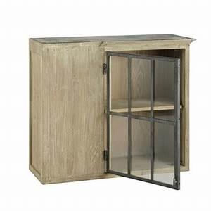 meubles haut maisons du monde With awesome meuble cuisine maison du monde 0 meuble haut de cuisine en manguier ivoire l 100 cm