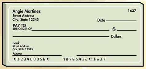 parts of a check routing number las partes de un cheque on banking