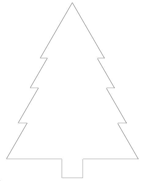printable christmas tree templates
