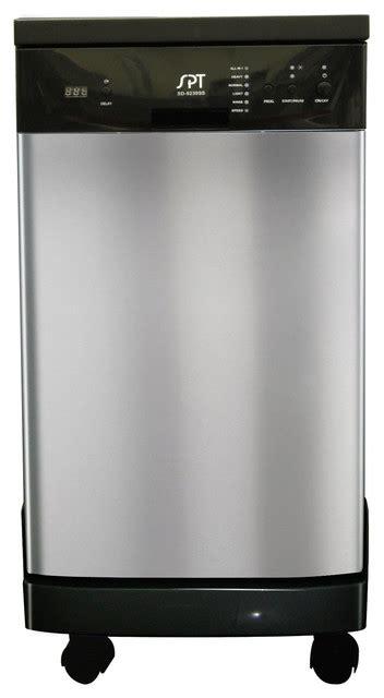 portable kitchen cabinets 18 inch portable dishwasher contemporary dishwashers 1605