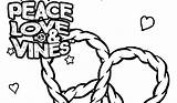 Vines Coloring Pages sketch template