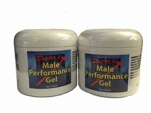 2 Doctors Natural Male Performance Gel Testosterone Booster Enhancement Cream Gh