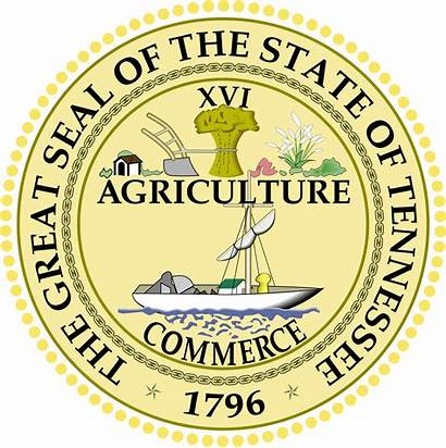 Tennessee State Seal Vector Svg