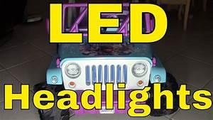 Led Lights  Wiring On A Power Wheels U00ae Disney Frozen Jeep