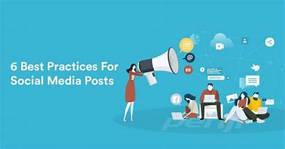 Social Posts Practices Graphic Service Infographic