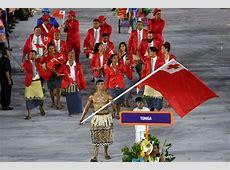 Topless Tonga flag bearer Pita Taufatofua sends fans wild