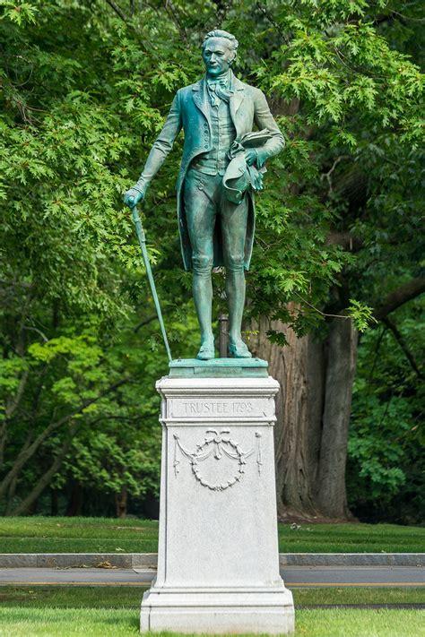File:Statue of Alexander Hamilton at Hamilton College, New ...