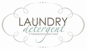 little inspirations homemade laundry soap 1 year later With free printable laundry labels