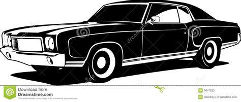 Black And White Montecarlo Stock Vector. Illustration Of