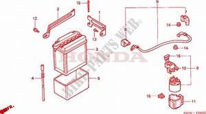 Battery For Honda Nx 125 1997   Honda Motorcycles  U0026 Atvs