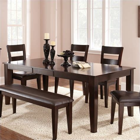 steve silver victoria  piece dining room table set