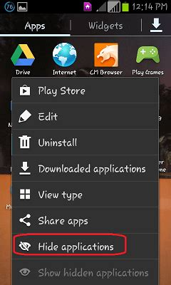 how to hide apps on android how to hide android apps easy steps with pictures