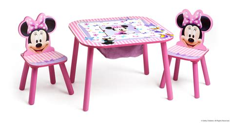 table et chaise minnie mouse disney minnie mouse storage table and chairs set what