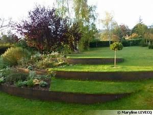 les 25 meilleures idees concernant murs de soutenement d With superb amenager jardin en pente 9 amenagement terrasse et jardin photo meilleures images d