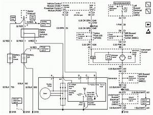Chevy Charging Circuit Wiring Diagram