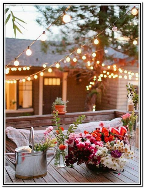Ample seating backyard games are a surefire way to break the ice among guests who may be meeting for the first. Homemade Outdoor Party Lighting | Outdoor party lighting, Patio lighting, Diy backyard