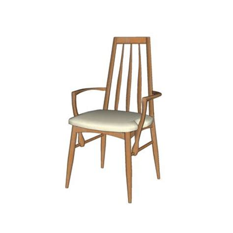 dining chair 3d model formfonts 3d models textures