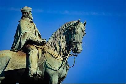 Garibaldi Equestrian Staty Av Rid Giuseppe Statue