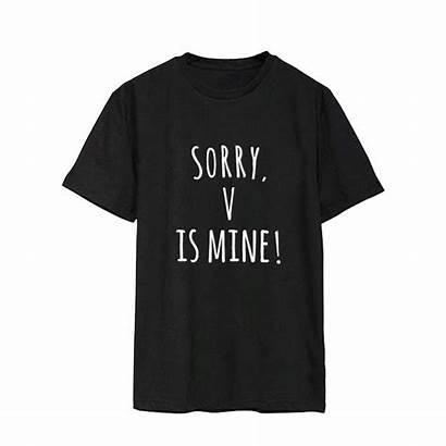 Bts Shirt Members Shirts Mine Crop Tops