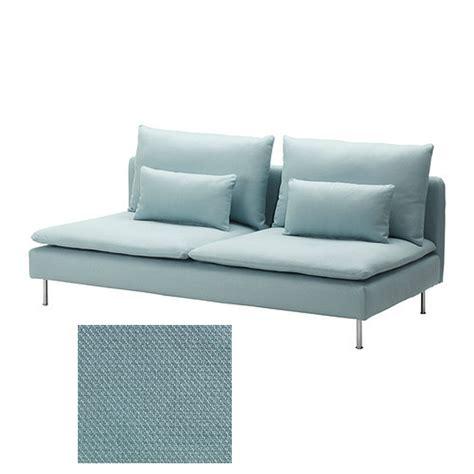 ikea soderhamn 3 seat sofa slipcover cover isefall light