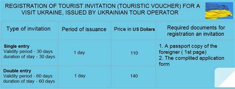 Tourist Invitation-letter To Ukraineinvitation For Visa To